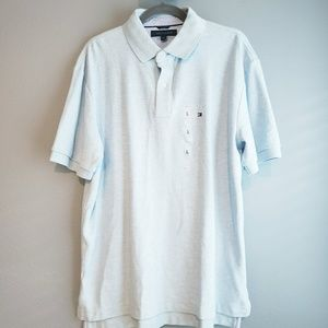 Tommy Hilfiger Light Blue Polo Shirt